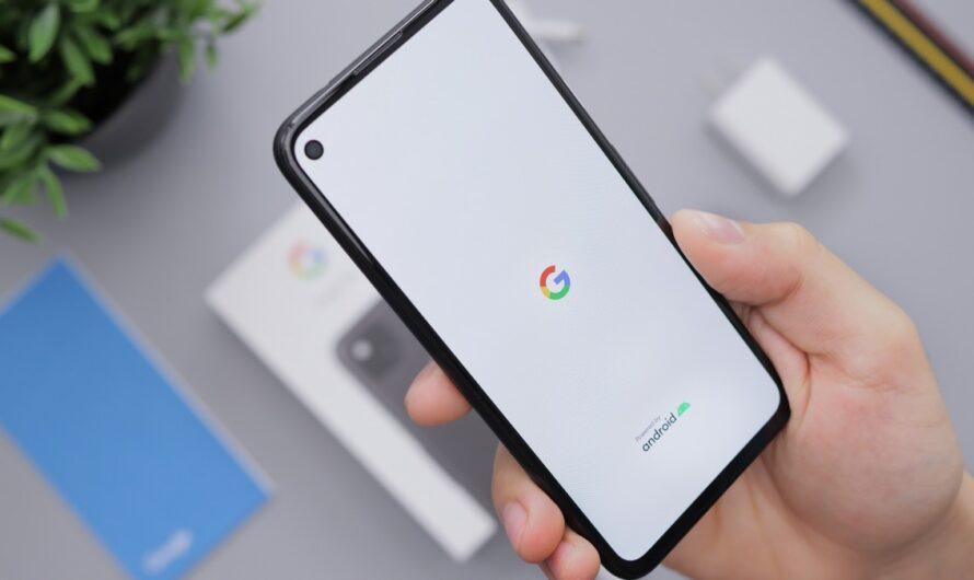 Google Pixel – hlavní rozdíly modelu 4a a 5